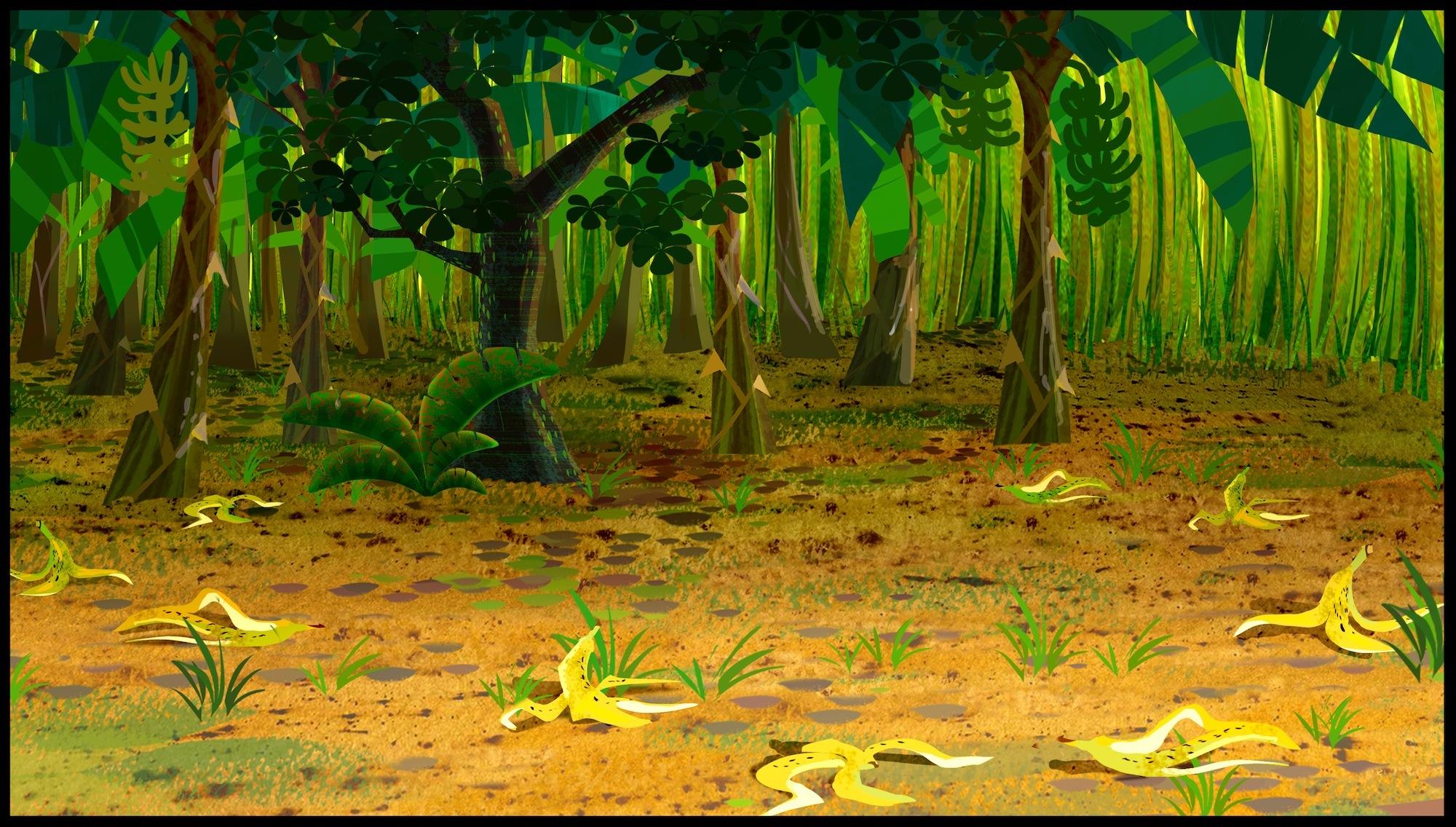 Картинки по запросу банановый лес